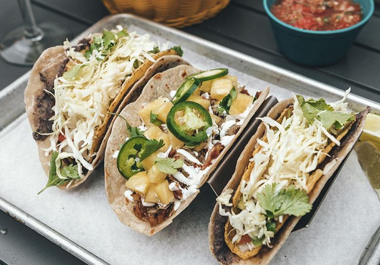 La gastronomía mexicana es patrimonio de la humanidad.